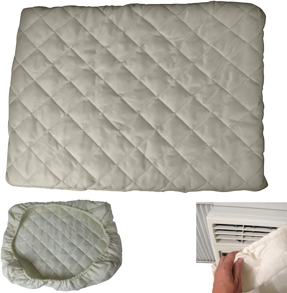 Amazon Com Evelots Air Conditioner Cover A C Window Indoor Elastic Double Insulation No Air Home Kitchen