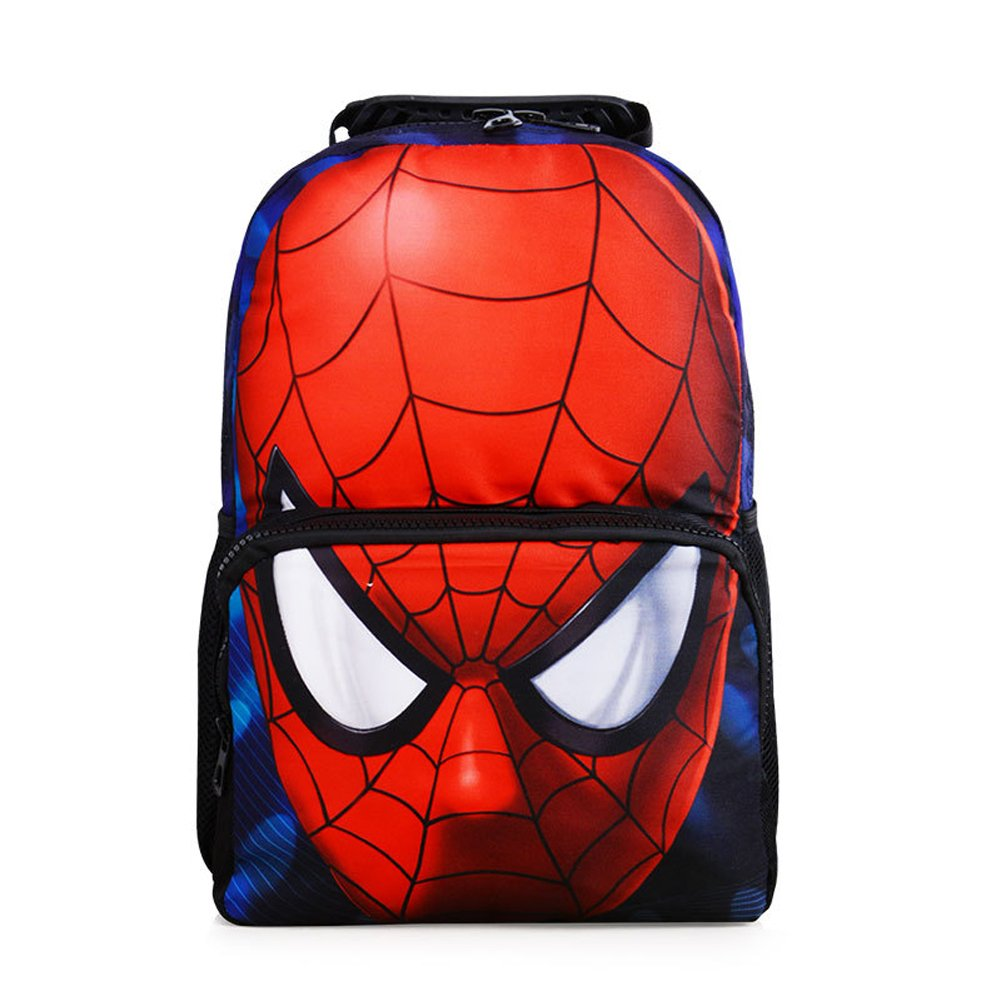 9eeb6c794db Amazon.com   YOURNELO Boy s Colorful Printed DC Marvel Super Heroes Rucksack  Pre-School Backpack Bookbag (Super Man 2)   Kids  Backpacks