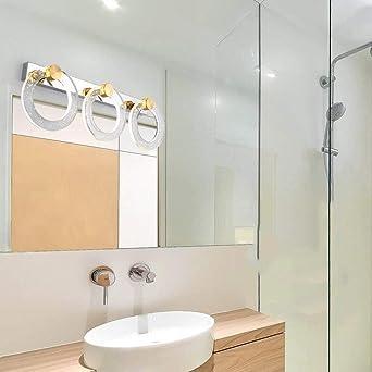 HAIZHEN LED-Spiegel Scheinwerfer Make-up-Leuchten Badezimmer Wand ...