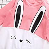 Newborn Baby Girls Boys Rabbit Print Romper Cute