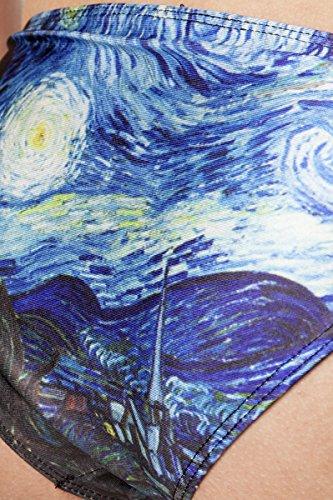 donna Angies pezzi Fashion Glamour bagno Costume da blu due Pqn0OrqSw