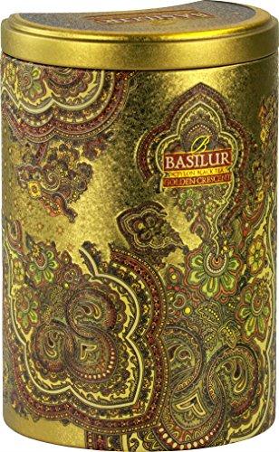 Basilur | Golden Crescent Oriental Collection | Pure Ceylon Pekoe balck tea | 100g / 3.52oz in Tin Caddy ()