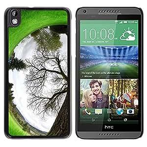 "For HTC DESIRE 816 , S-type Planta Naturaleza Forrest Flor 94"" - Arte & diseño plástico duro Fundas Cover Cubre Hard Case Cover"