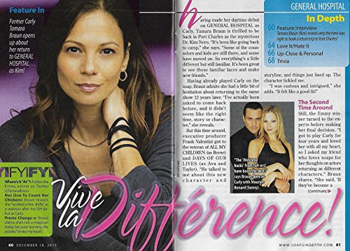 Tamara Braun (Dr. Kim Nero, General Hospital) Soaps In Depth Interview [4 Pages]
