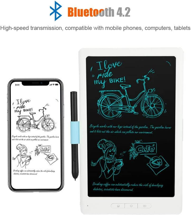 10 inch Bluetooth Wireless Drawing Handwriting Pad Gift for Kids at Home,School and Office. Vbestlife LCD Writing Tablet,Electronic Writing /&Drawing Board Doodle Board