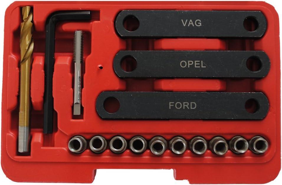 Guide Kit de r/éparation filetage-Filetage R/éparation staz M9 x1,25 CCLIFE /Étrier de frein
