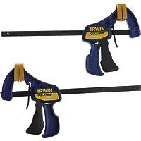 """IRWIN QUICK-GRIP 150mm (6"""") Mini Clamp - 2 Pack"""