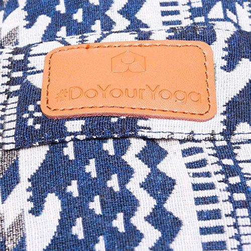 #DoYourYoga Round Yoga Bolster »Krishna« with Organic buckwheat Husk / 26.8