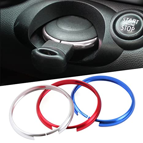 Car Remote Key Protective Ring Fob For BMW Mini Cooper R55//R56//R57//R58//R59//R60