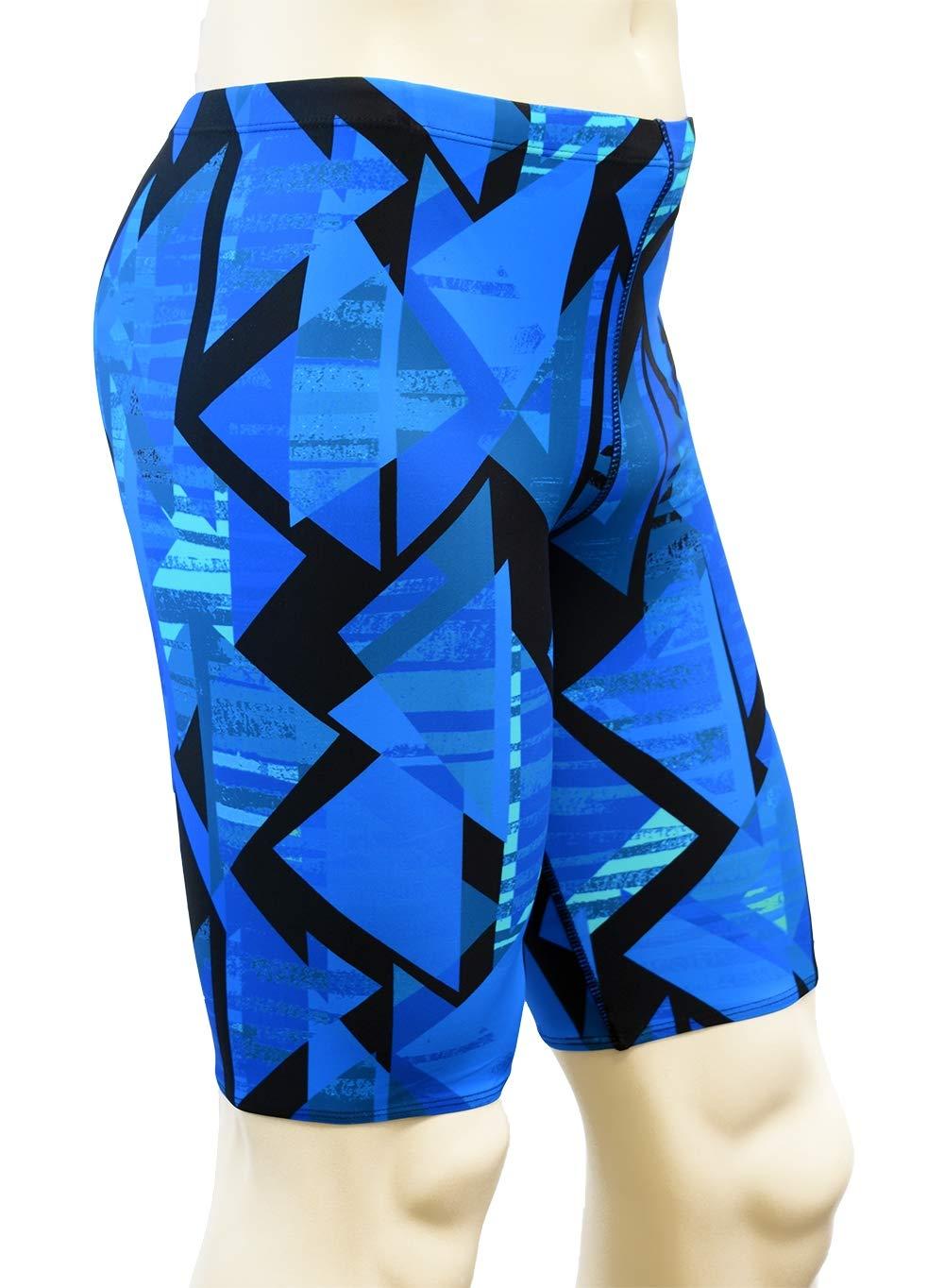 Adoretex Boys//Mens Printed Pro Athletic Jammer Swimsuit Swim Shorts