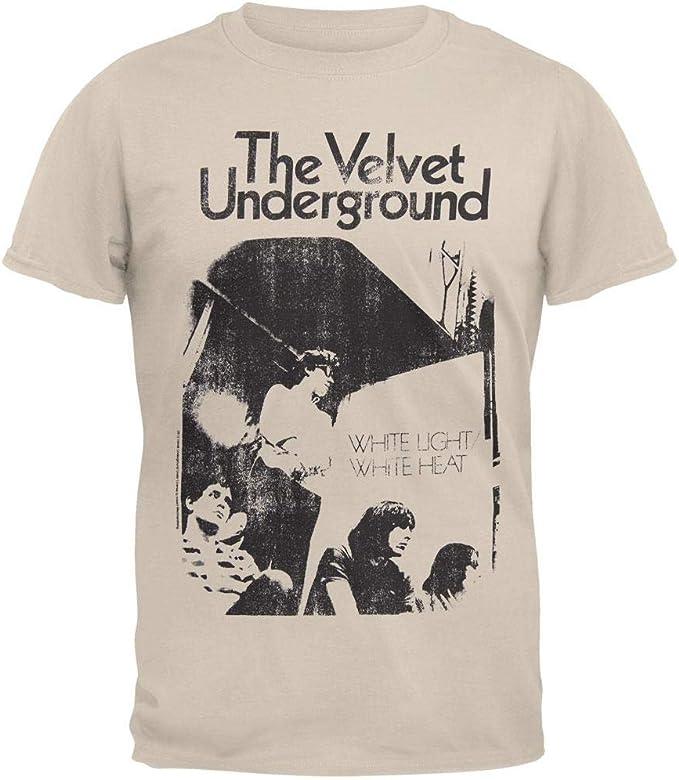 LYYJY Velvet Underground - White Light White Heat Soft T-Shirt Black