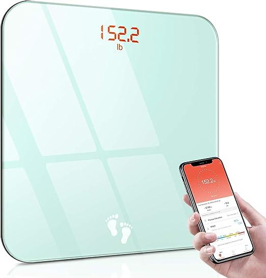 Cocoda Bascula de Baño, Báscula Digital Corporal Bluetooth con APP ...