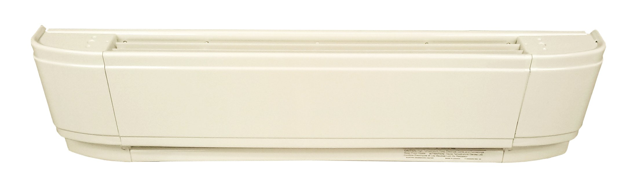 25'' Electric Baseboard Heater, Almond, 500W, 240V