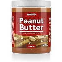 Prozis Beurre Cacahuète 1kg - Texture Délicieuse et Croquante - Source de Protéines Naturelles - Convient aux Régimes Végétalien, Kascher et Halal - Sans Sel Ajouté et sans Gras Trans