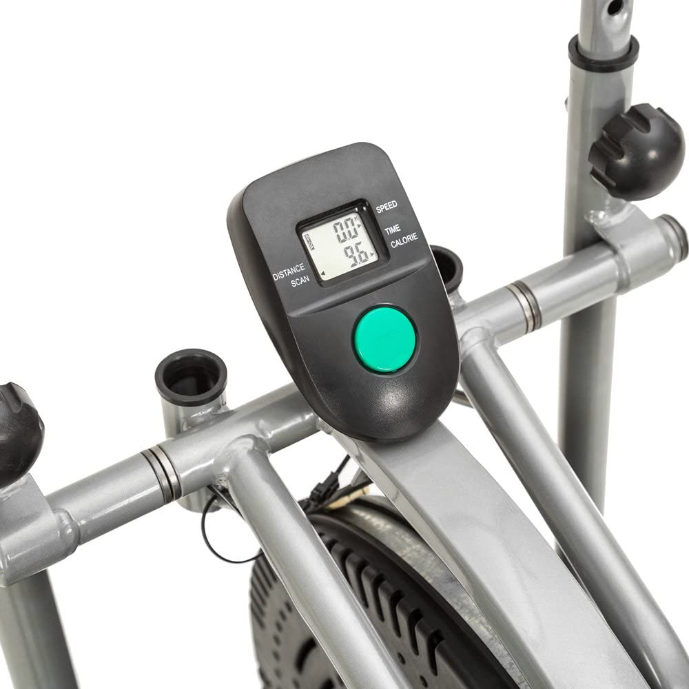 TecTake 1 Maquina Fitness Bicicleta eliptica Gimnasia estatica ...