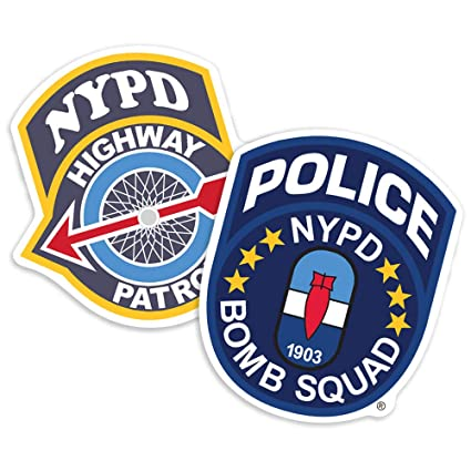 69e810064 Amazon.com: Popfunk New York City NYC NYPD Highway Patrol and Bomb ...