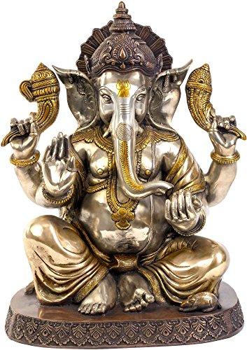 Swethamber Arts VZX543 Statue Religious Ganesha Idol