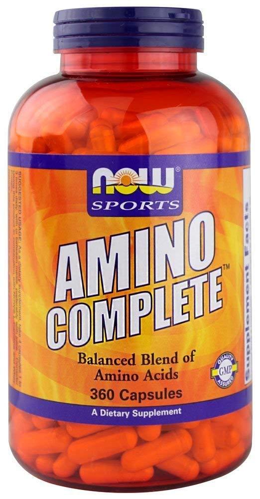 NOW Foods - Amino termine - 360 cápsulas: Amazon.es: Salud y cuidado personal