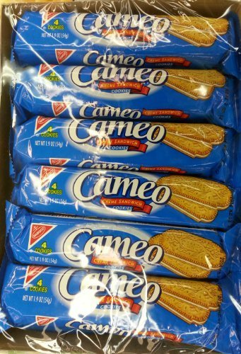 2 Box of 12 Pack of Cameo Creme Sandwich By Nabisco for sale  Delivered anywhere in USA