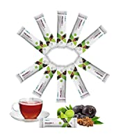 Instant Detox Tea for Weight Loss and Belly Fat by Fuxion Prunex 1 - Great Tasting Like Prune Juice, 100% Traditional Natural Herbs, Express Relief from Occasional Constipation - 10 Sachets Trial Pack