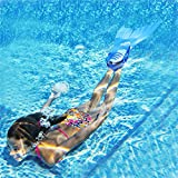 Jeeke Mermaid Tails for Swimming, Mermaid Monofin
