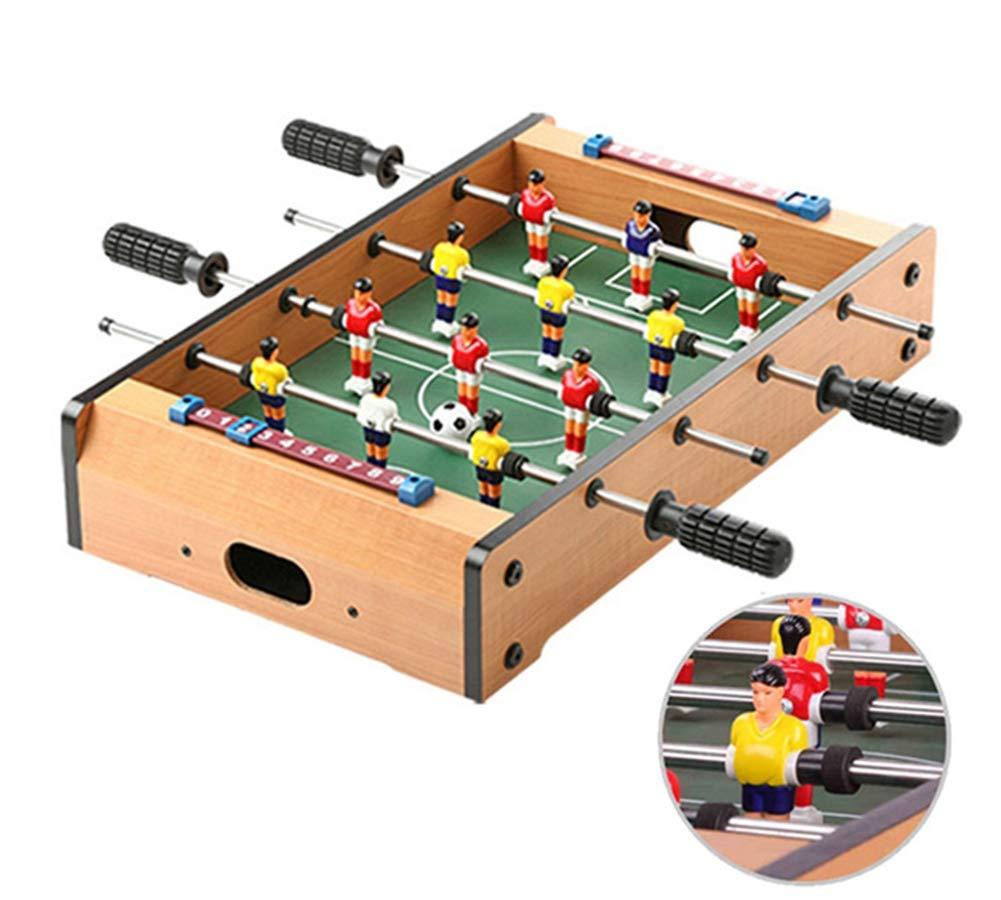Lcyy-game Mesa futbolín, Mini Deportes Arcade de fútbol para Sala de Juegos, Accesorios incluidos