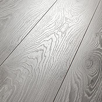 Kronotex villa timeless oak grey 12mm laminate flooring for Kronotex laminate flooring reviews