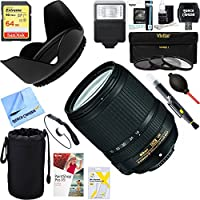 Nikon 18-140mm f/3.5-5.6G ED AF-S VR DX Nikkor Lens (2213) + 64GB Ultimate Filter & Flash Photography Bundle