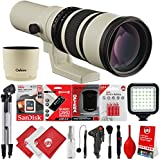 Oshiro 500mm/1000mm f/6.3 Super Telephoto Wild Life Lens for Canon EOS 80D, 77D, 70D, 60D, 7D, 6D, 5D, 7D Mark II, T7i, T6s, T6i, T6, T5i, T5, SL1 & SL2 Digital SLR Cameras