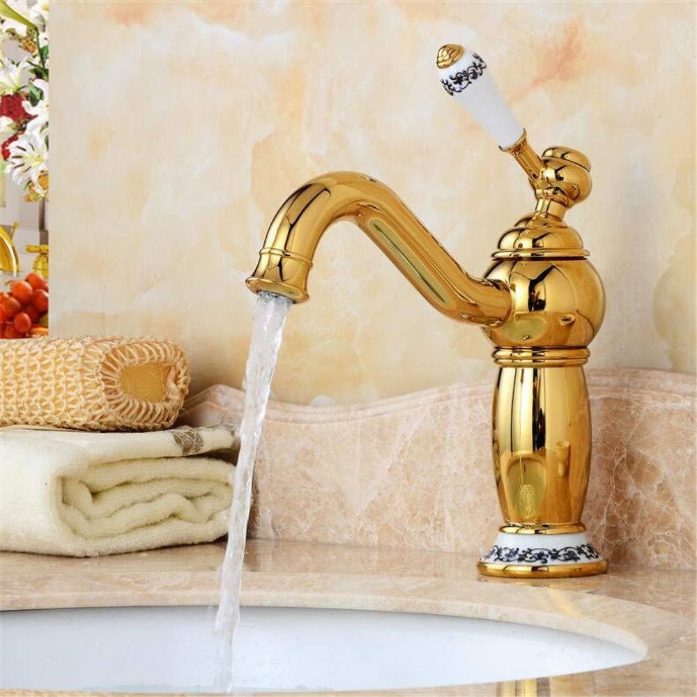 Basin Mixer Tap Bathroom Faucet Hot and Cold Water Faucet