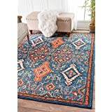 nuLOOM Traditional Ornamental Diamonds Multi Rug (3  x 5 )