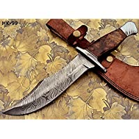 REG-274, Handmade Damascus Steel 13.00 Inches Hunting...