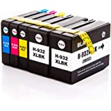 NEXTPAGE 932XL 933XL Ink Cartridges Replacement for HP 932 933XL Ink CN053AN CN054AN CN055AN CN056AN Use with HP Officejet 61