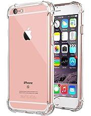 Jenuos 7G-TPU-CL - Coque iPhone 7 / 8 Transparent Souple Extrêmement Antichoc Bumper Housse TPU Silicone Etui pour Apple iPhone 7/8 - Transparent