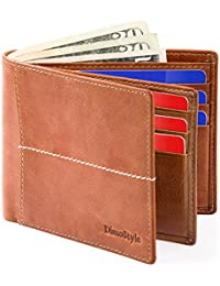 Dimostyle Mens Wallets Leather With Flip Id Window Explained