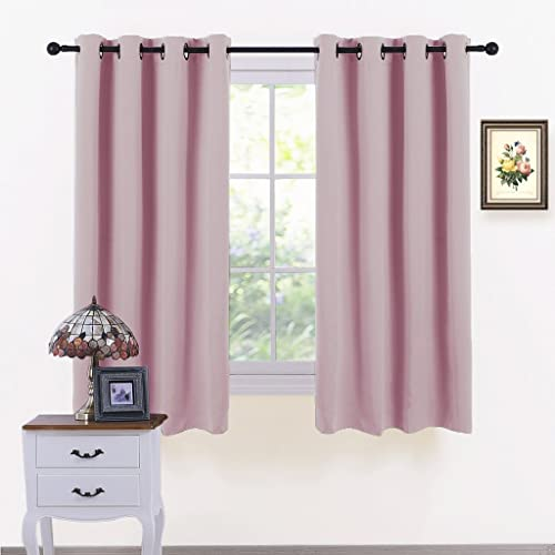 Pink Curtains Amazon Co Uk