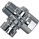 Rinse Ace Extra Connector for the Rinse Ace Detachable Hose, Chrome