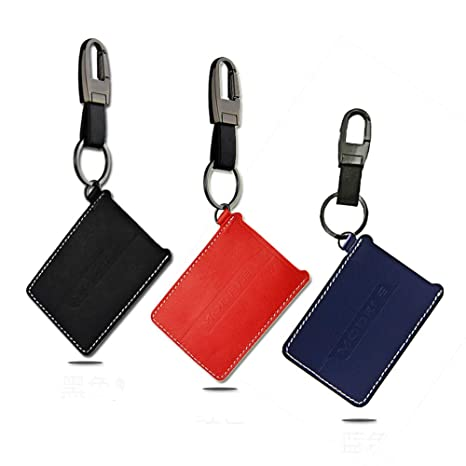 Amazon.com  Car Card Business Key Holder Card Case Car Keychain Holder  Leather Key Card protectors Compatible Tesla Model 3(3 Colors) (Red)   Automotive 880fa9985