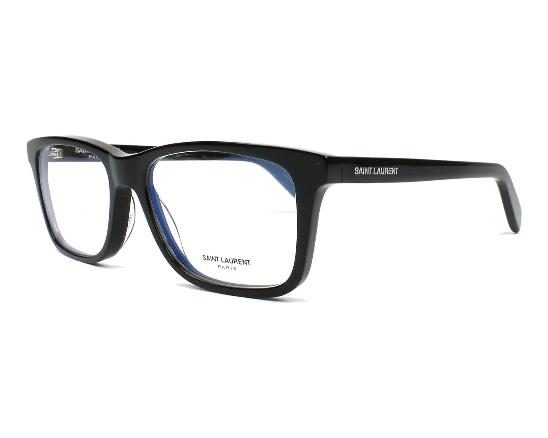 13213c58891 Eyeglasses Saint Laurent SL 164-005 BLACK / at Amazon Men's Clothing store: