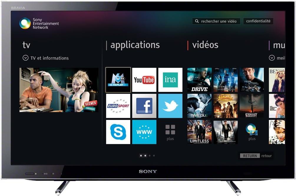 Sony KDL32HX750BAE2 - Televisión de 32 pulgadas, 3D Full HD, color negro: Amazon.es: Electrónica