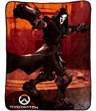 "Overwatch Reaper 45""x60"" Fleece Throw Blanket"