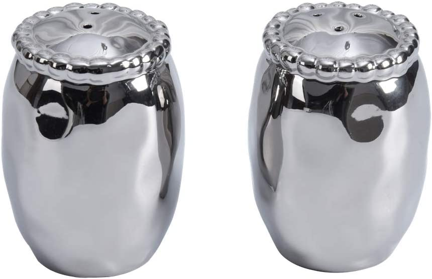 Pampa Bay Porcelain Verona Salt & Pepper Shakers