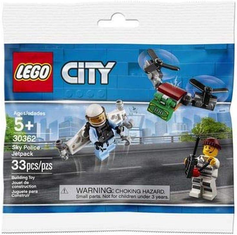 LEGO POLYBAG City Sky Police Jetpack 30362