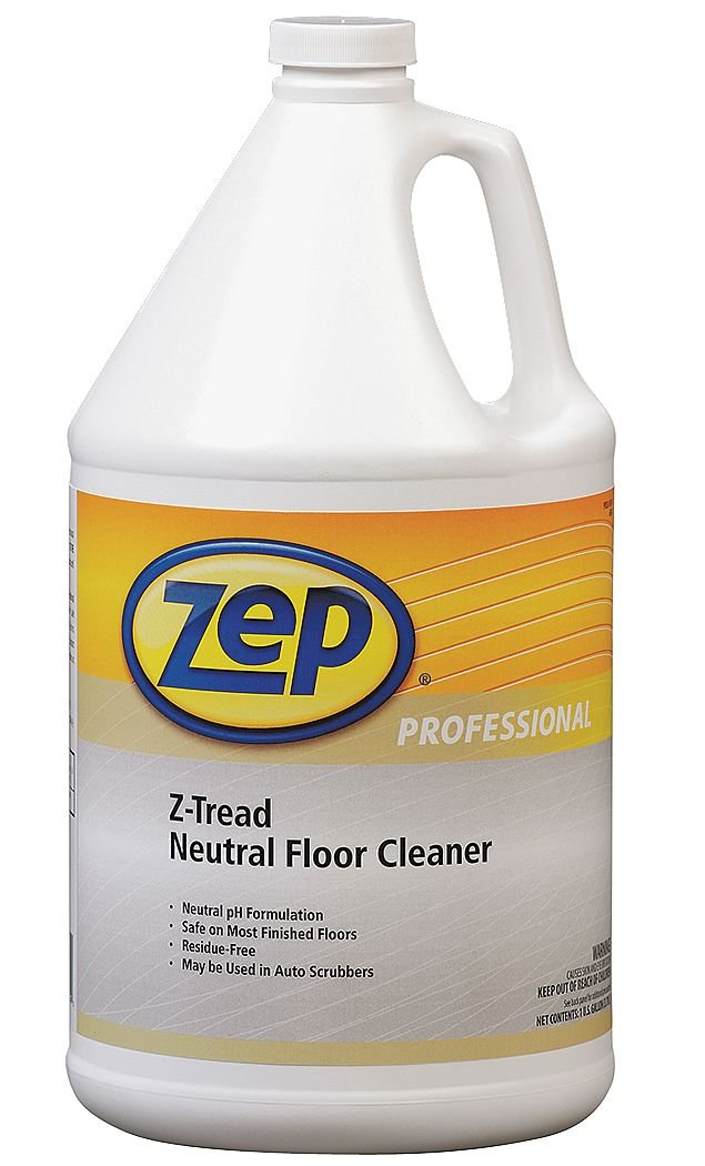 Zep Hardwood And Laminate Floor Cleaner Reviews Part - 39: Amazon.com: Zep Professional R03424 Z-Tread Neutral Floor Cleaner,  Fresh/Clean Fragrance, Clear/Green: Industrial U0026 Scientific