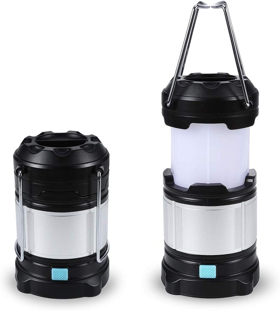 B-right Lámpara de Camping,Luz de Emergencia,4 Modos de Luz,Resistente al Agua IPX5,Lámpara Portátil para Actividades al Aire Libre,Ideal para Tiendas,Casa,Camping,Pesca,Ir de Excursión,etc