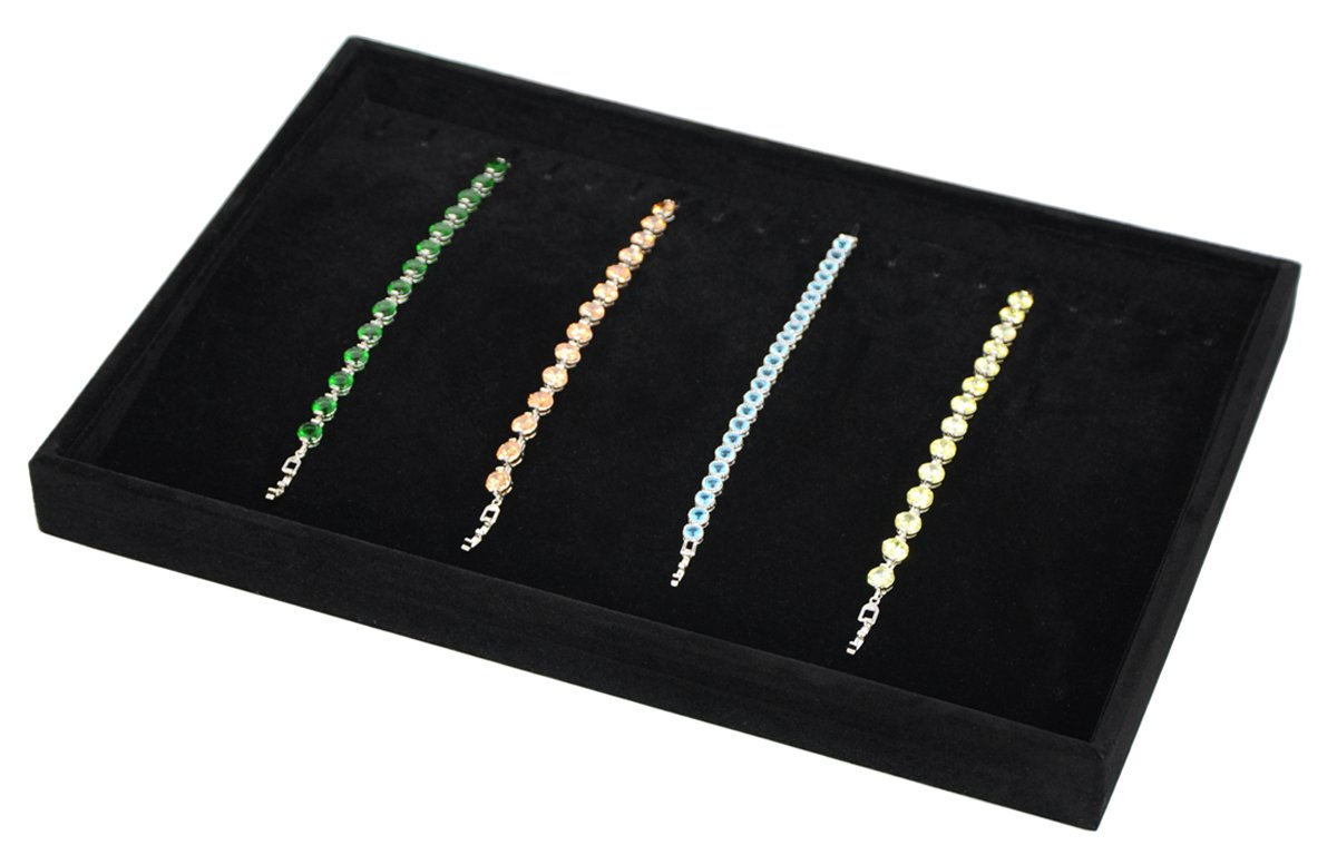 Stackable Necklace Showcase Organizer Functional Image 1