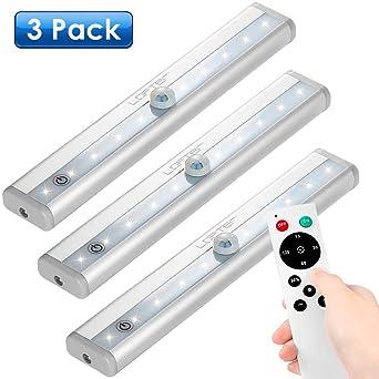 Unterbauleuchte LED 3er Pack Schrankleuchte mit Fernbedienung ...