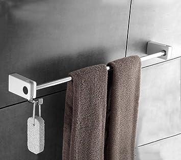NAERFB Toalleros radiador para Toallas de baño/Toallas de baño/Colgante vástago único baño Estanterías de Acero Inoxidable para Colgar en Pared Barras de ...