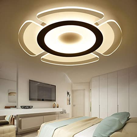 Amazon.com: AXWT - Lámpara de techo ultrafina con luz LED ...