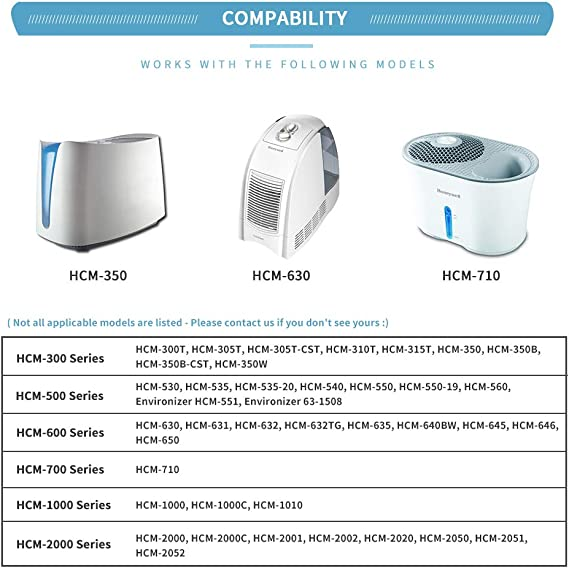 Humidifier Filter For Honeywell HCM-630 HCM-631 HCM-645 Spare Tool Parts Supply